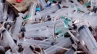 Foto de Lixo hospitalar é flagrado em descarte irregular em Cabo Frio