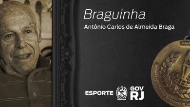Foto de Mérito da Secretaria de Esportes do Rio vai se chamar medalha Antônio Carlos de Almeida Braga