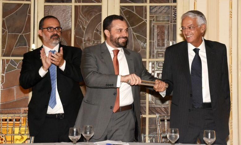 Posse do novo presidente do Fluminense