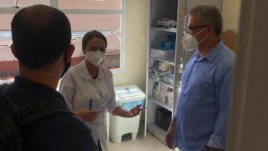 Foto de Hospital Municipal Rodolpho Perissé recebe visitoria do Secretário de Saúde