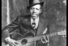 Foto de Robert Johnson, a lenda do blues