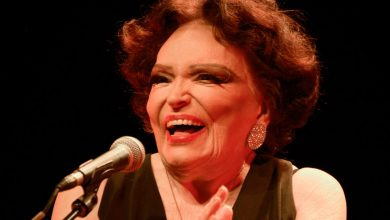 Foto de Bibi Ferreira, diva do musical brasileiro