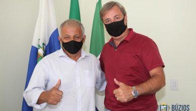 Foto de Prefeito de Búzios recebe visita de deputado Lourival Gomes